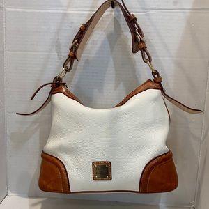 Dooney Bourke Shoulder Bag Pebbled Leather Satchel